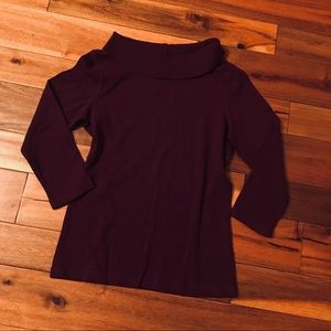Loose Turtle Neck Knit Sweater